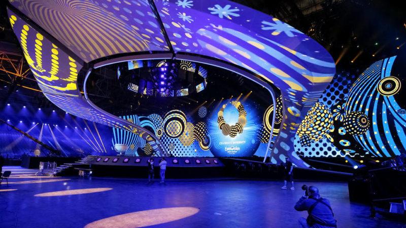 Η εντυπωσιακή σκηνή του Διαγωνισμού τραγουδιού της Eurovision 2017,